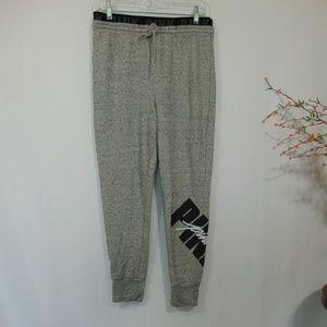 PINK Victorias Secret Gray Joggers Pants Sweats